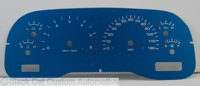 98-00 Dakota Custom Design Gauge Face