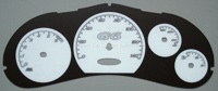 Pontiac G6 Custom White Gauge Face