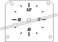 Chrysler 300 Clock Face
