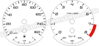 BMW 5th Gen 3 Series Gauge Face